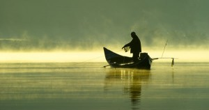 Fishing Lough Derg