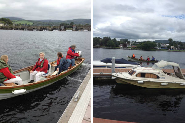 Boats for hire in Killaloe
